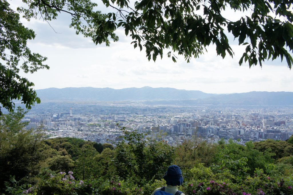 京都一周トレイル(東山コース)を歩きました