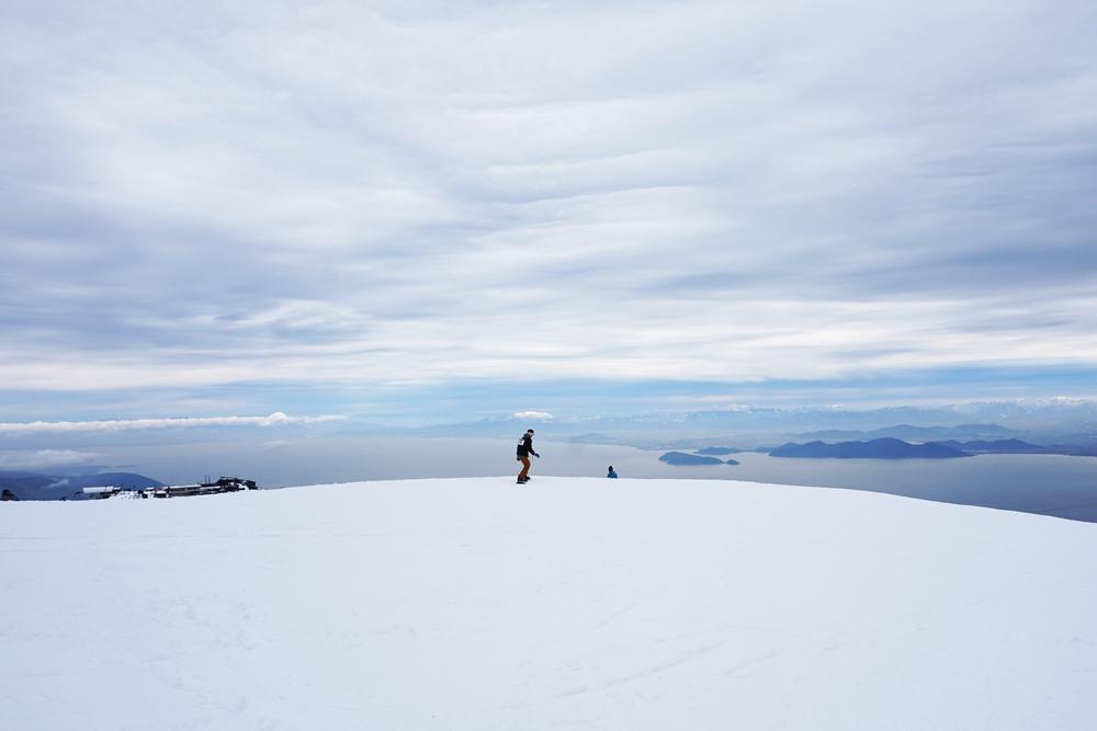 琵琶湖 バレイ スキー 場