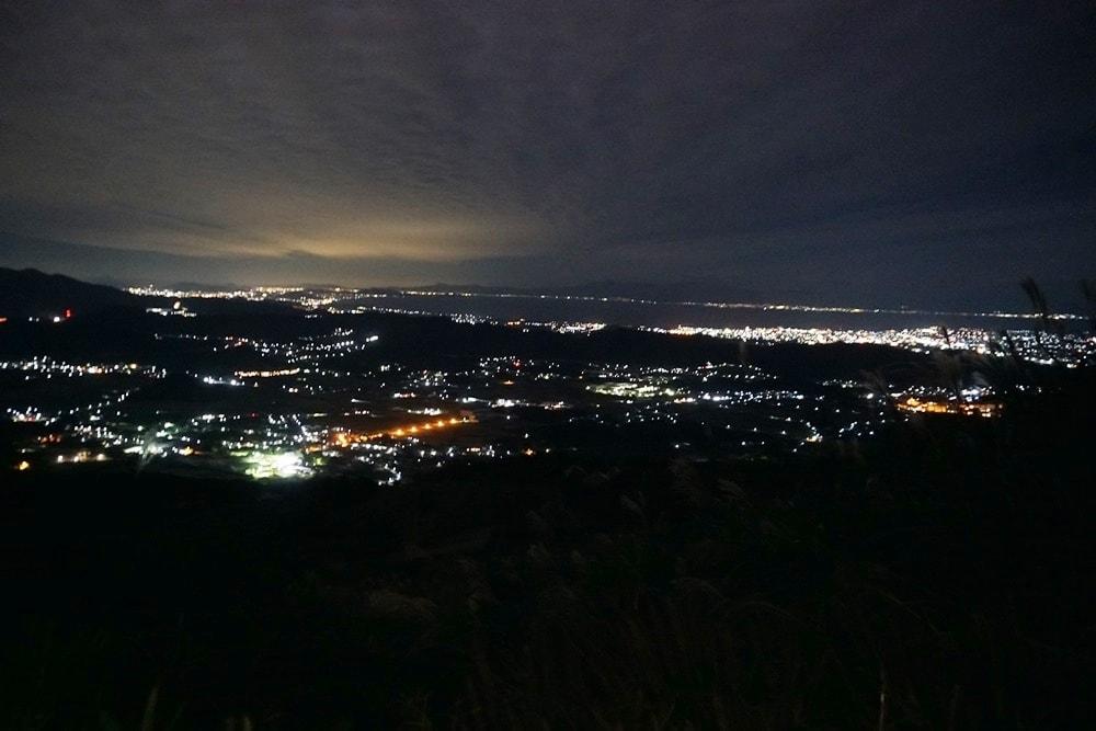 伊吹山 夜景