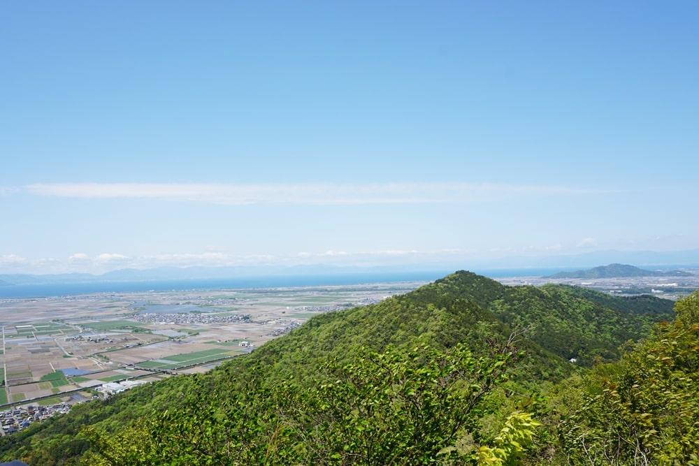 繖山(きぬがさ山)登山・ハイキング 滋賀県 能登川~安土コース